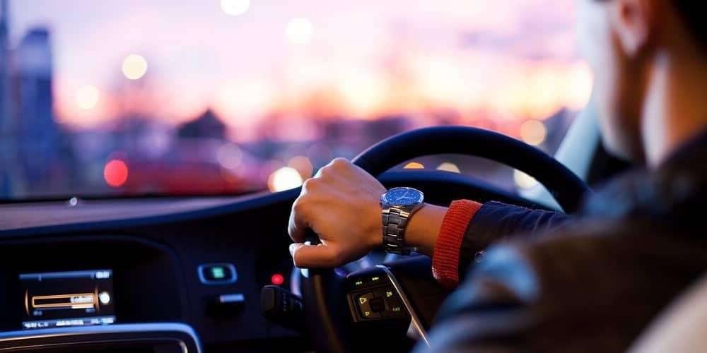 uber driver in PCO car