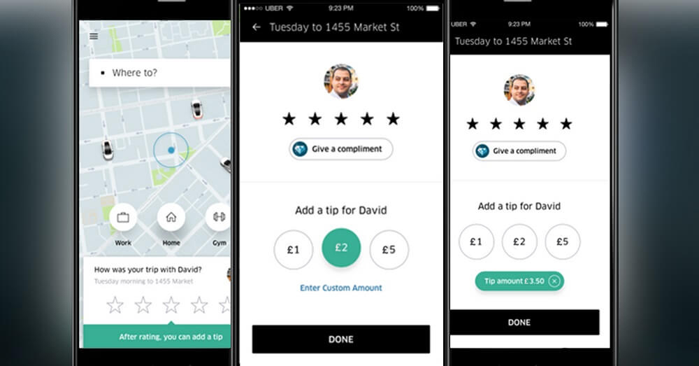 How to earn more tips with Uber
