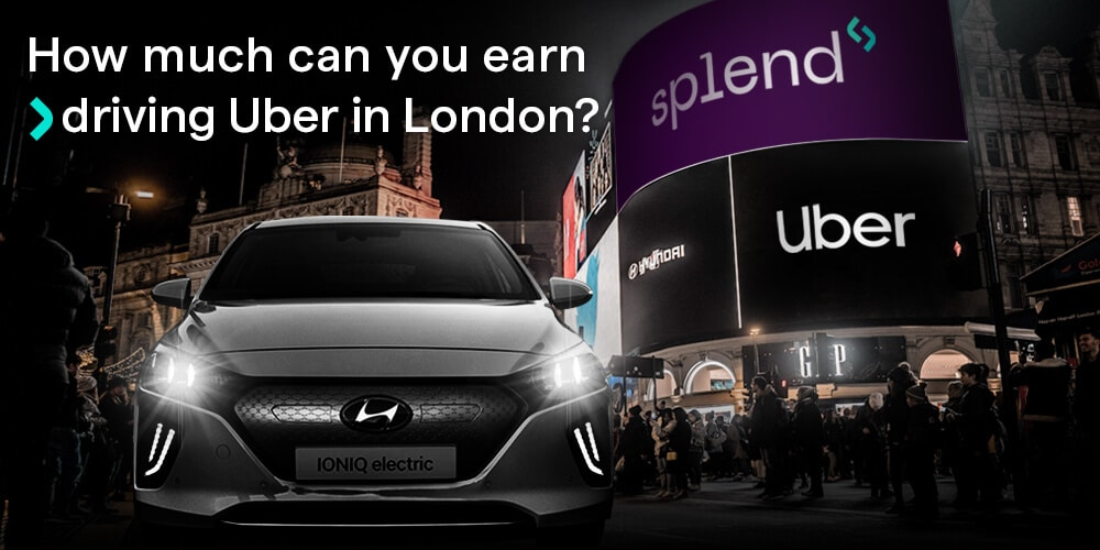 How much do Uber drivers make per week in London?