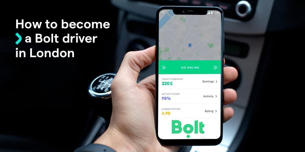 How to become a Bolt driver in London