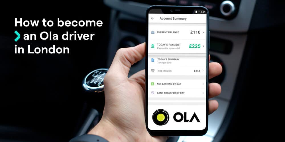 How to become an Ola driver in London