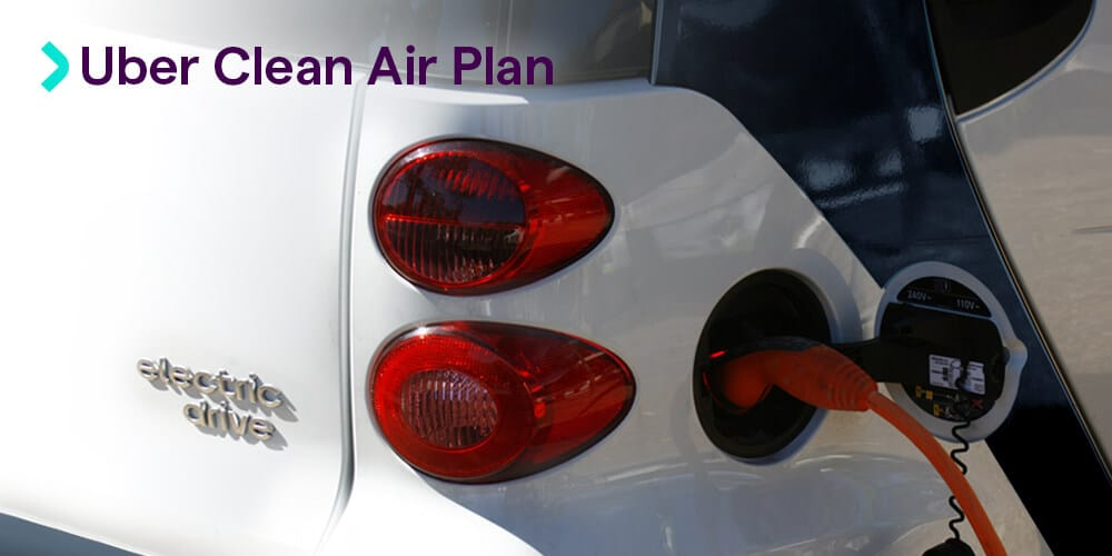 Uber Clean Air Plan