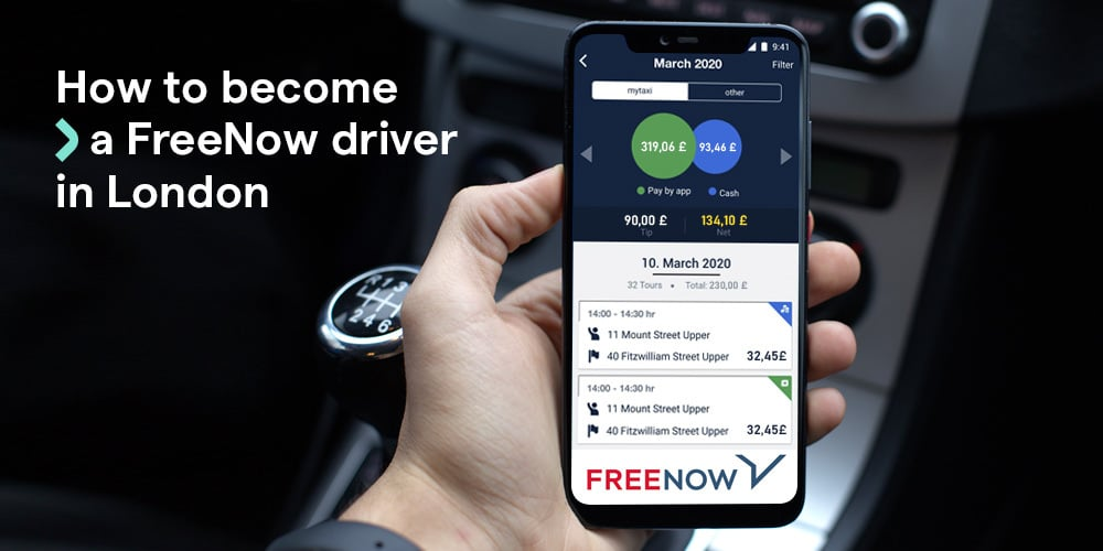How to become a FREE NOW driver in London