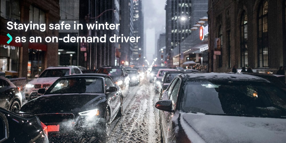 An Uber driver guide to staying safe on the roads this winter