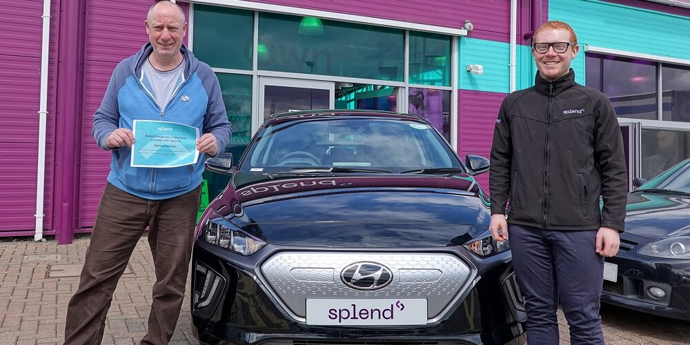 Meet Daniel, who embraces the future with his new electric car