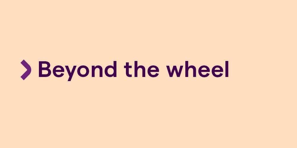 Beyond-the-wheel
