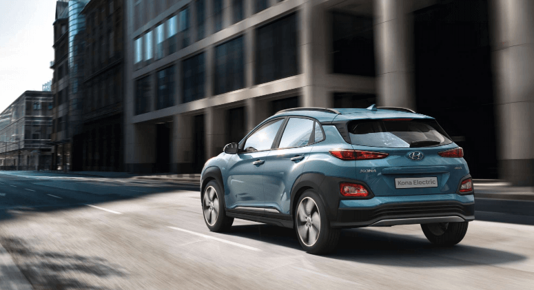 Discover convenience and instant power with the new Hyundai Kona Electric