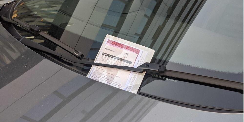 PCN parking ticket