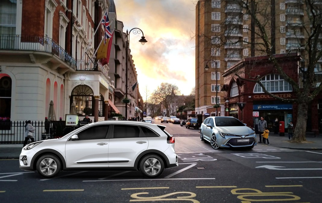 Rent to buy car on street in London