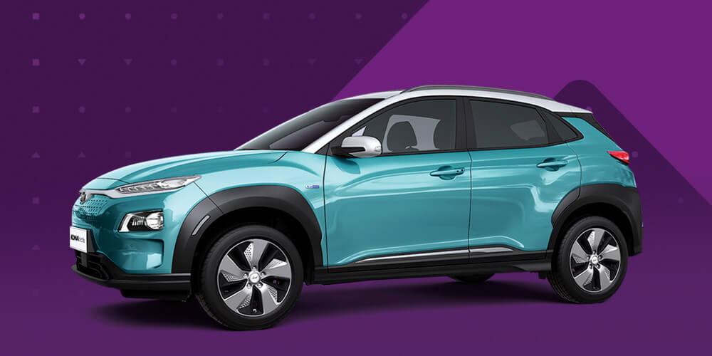 Hyundai Kona Electric - Electric PCO Rent to buy