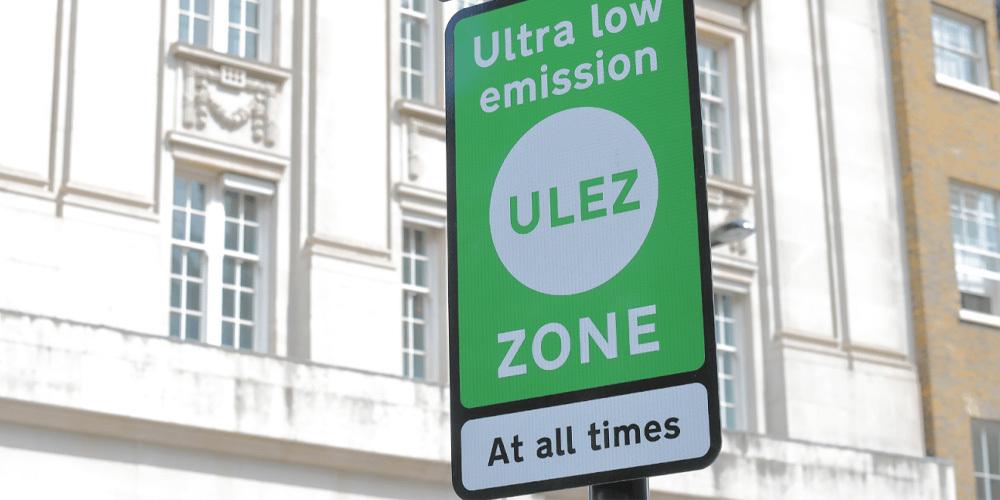 London ULEZ zone in 2021